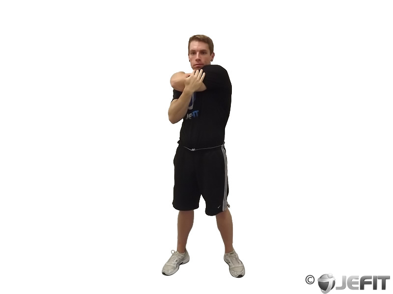 tricep side stretch   exercise database jefit   best android and
