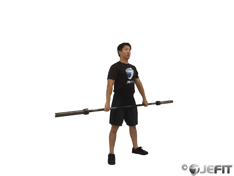 Barbell Hang Snatch