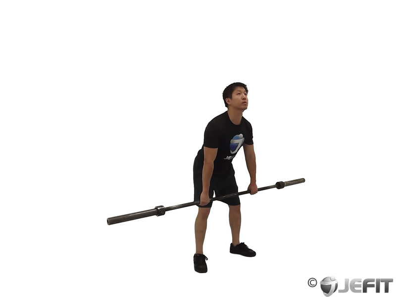 Barbell Muscle Snatch