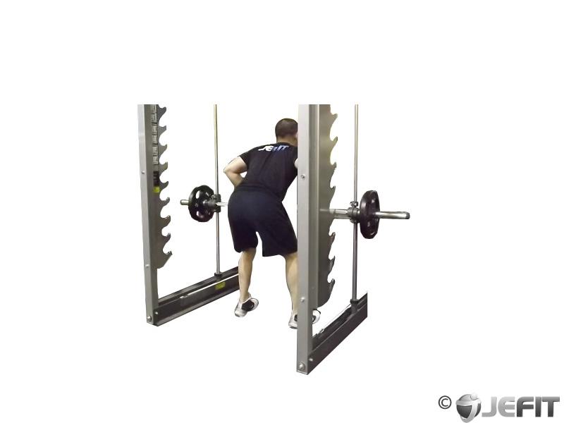 Smith Machine Bent Over Row Exercise Database Jefit