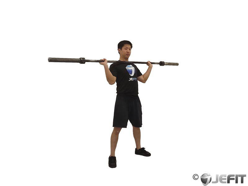 Barbell Squat Jerk