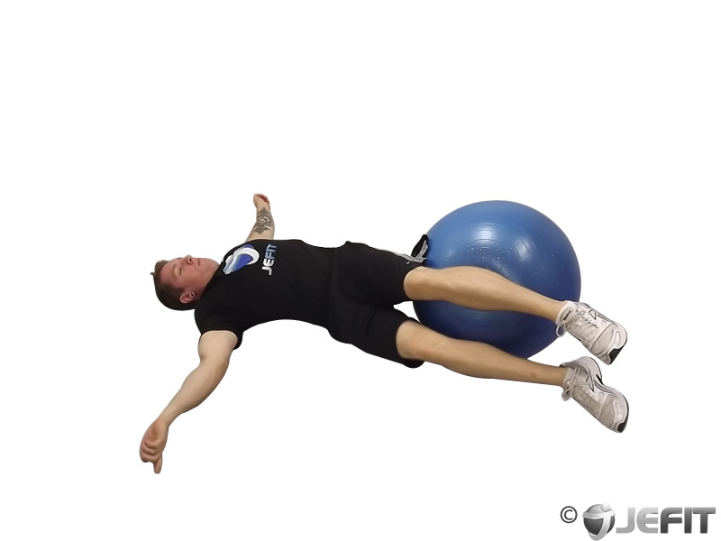 Exercise Ball Hip Roll Exercise Database Jefit Best