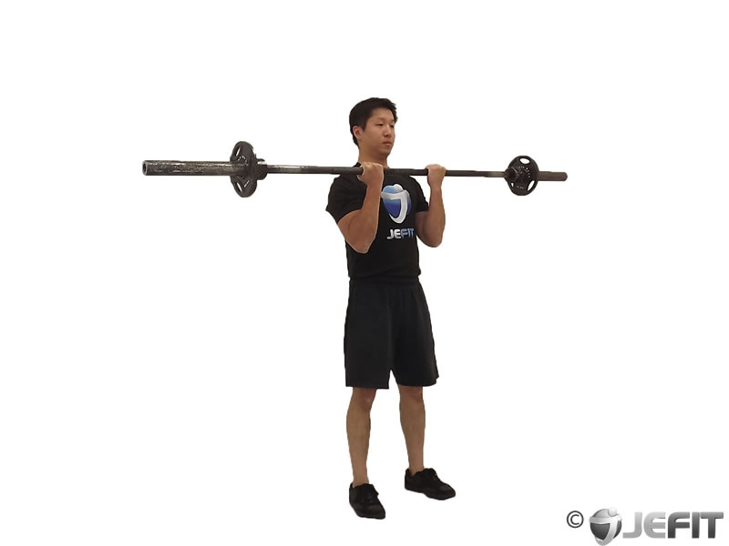 Barbell Close Grip Standing Curl