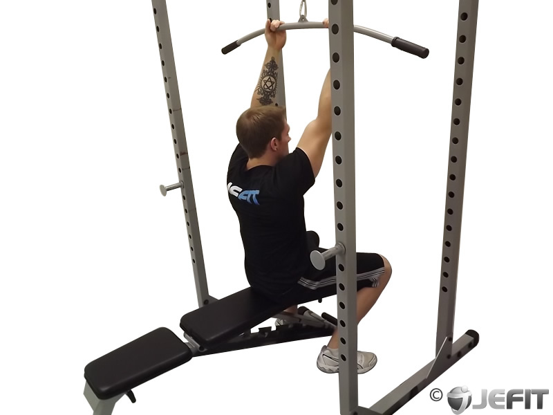 Cable Pulldown Bicep Curl