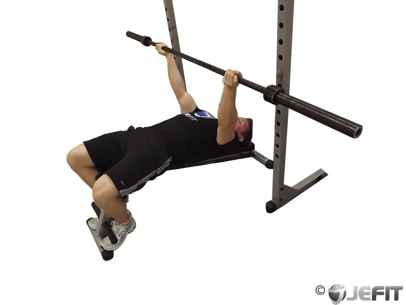 Barbell Reverse Grip Decline Bench Press