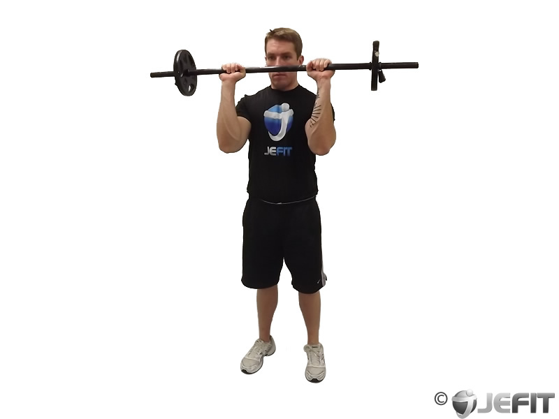 Barbell Ez Bar Reverse Grip Curl Exercise Database