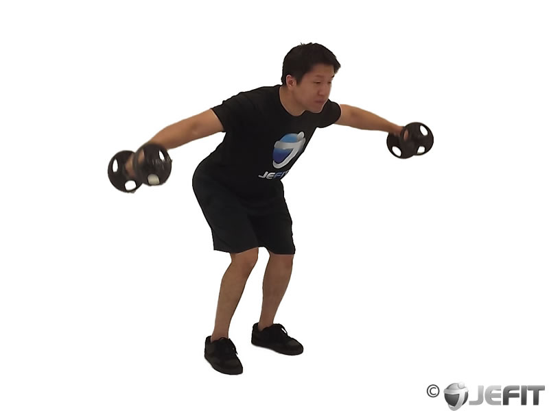 Dumbbell Bent Over Reverse Fly