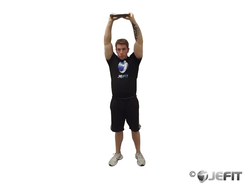 Weight Plate High Front Raise