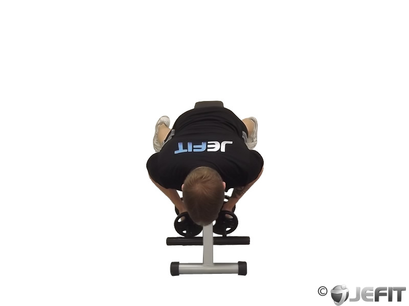 Dumbbell One Arm Lying Reverse Fly