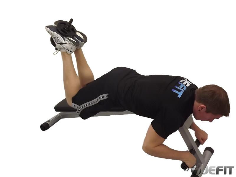 Dumbbell Hamstring Curl - Exercise Database | Jefit - Best