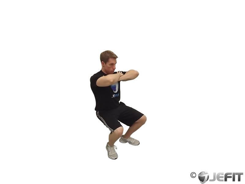 Bodyweight Wall Squat