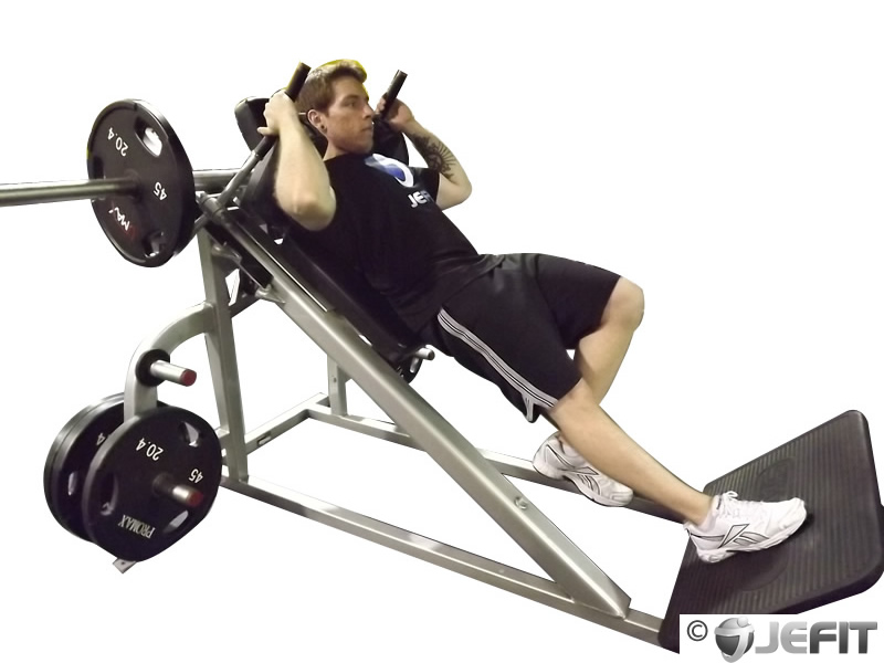 One Leg Hack Squat