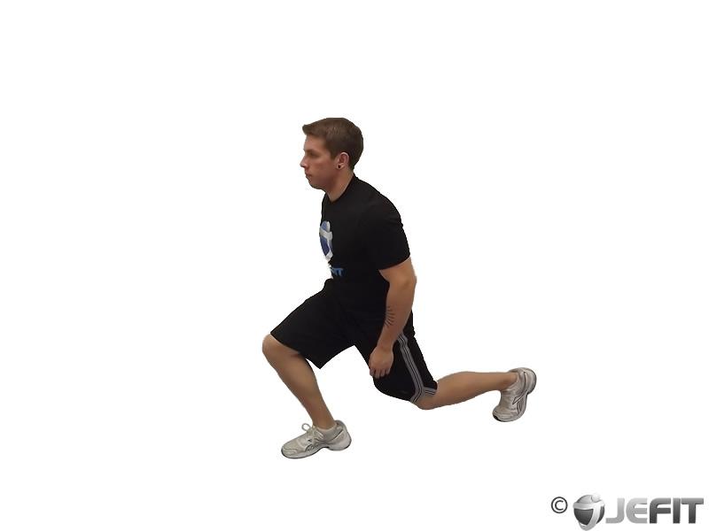 Bodyweight Walking Lunge - Exercise Database | Jefit - Best