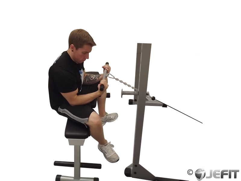 Cable Wrist Curl