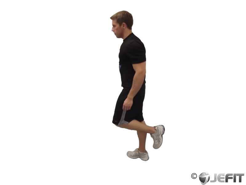 One Leg Floor Calf Raise