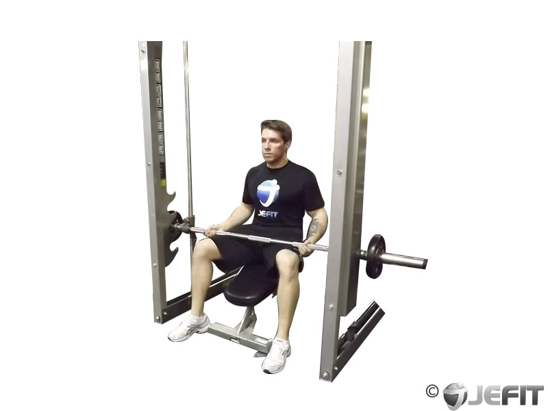 Smith Machine Toe Raise