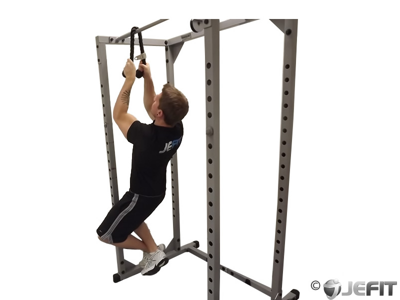 Cable Rope Pull Up