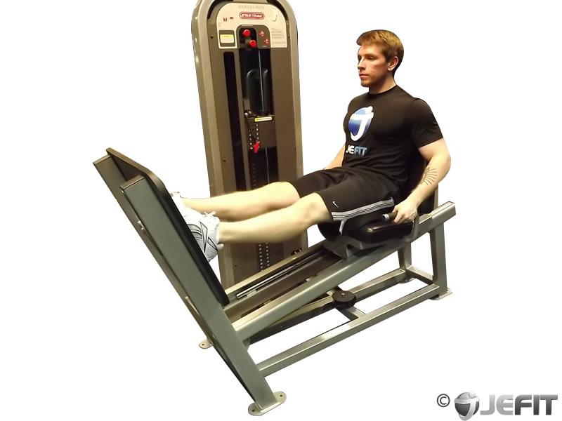 legs press machine