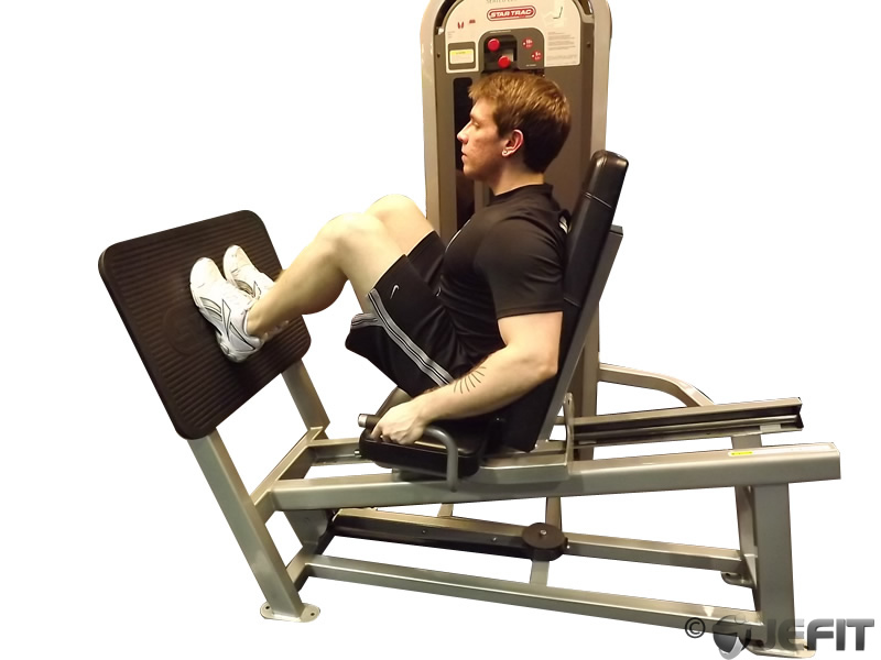 Leg Press Machine With Narrow Stance