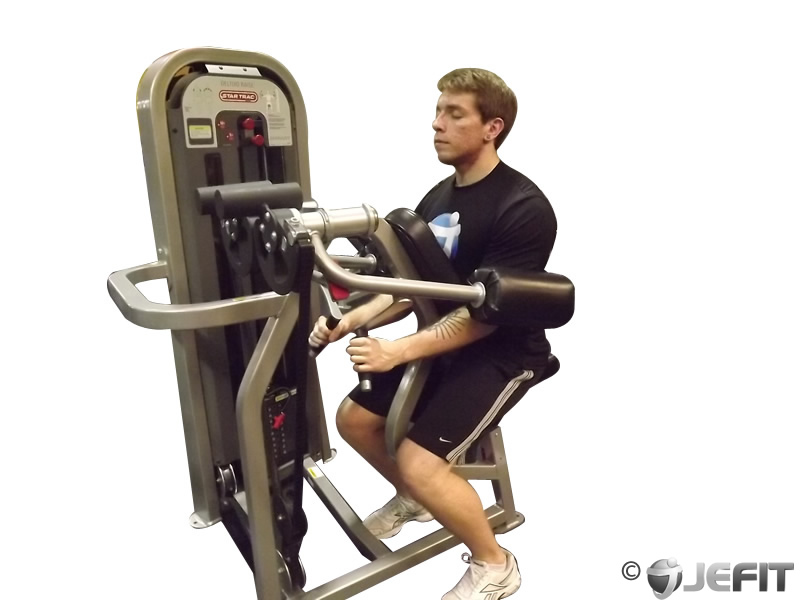 deltoid exercise machine