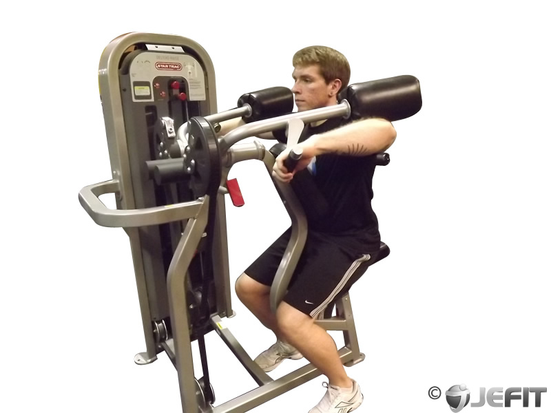 Machine Deltoid Raise - Exercise Database | Jefit - Best ...
