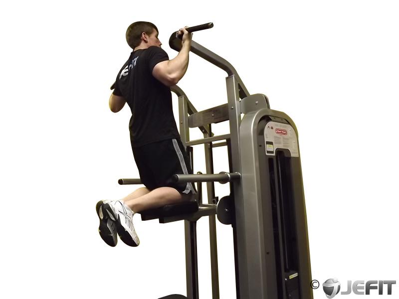 Machine Assisted Chin Up Exercise Database Jefit