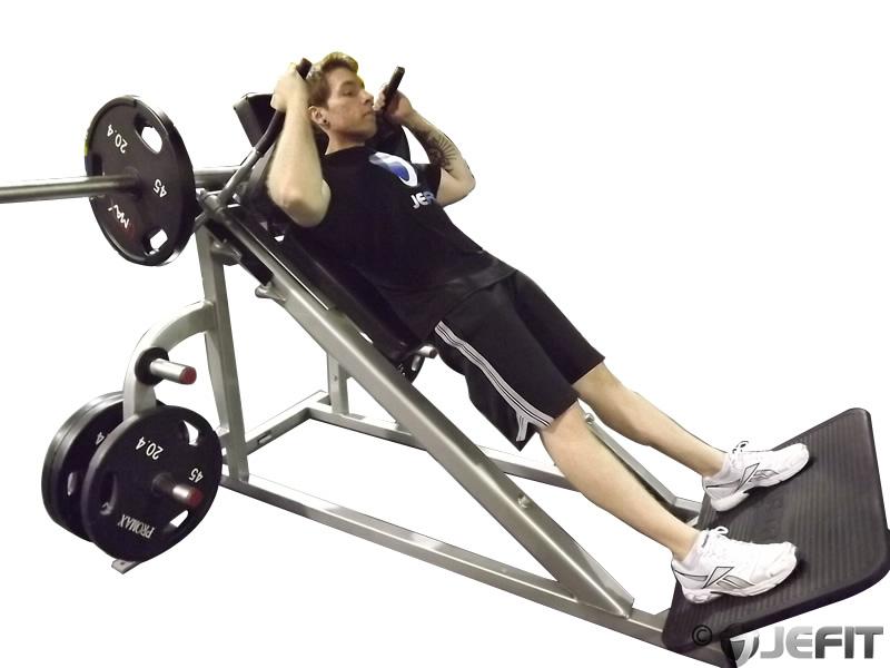 lying machine squat exercise database jefit best
