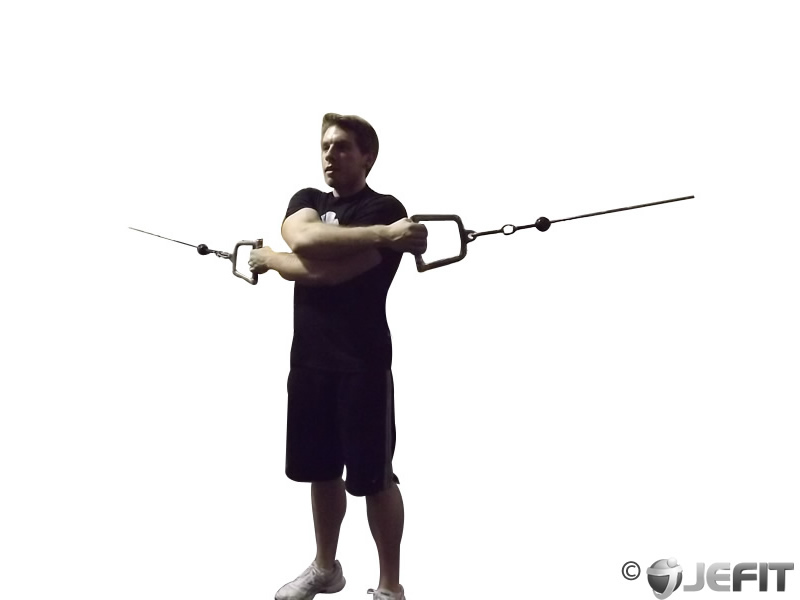 Cable Full Range of Motion Straight Crossover