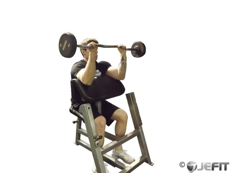 Barbell Reverse Preacher Curl - Exercise Database | Jefit ...