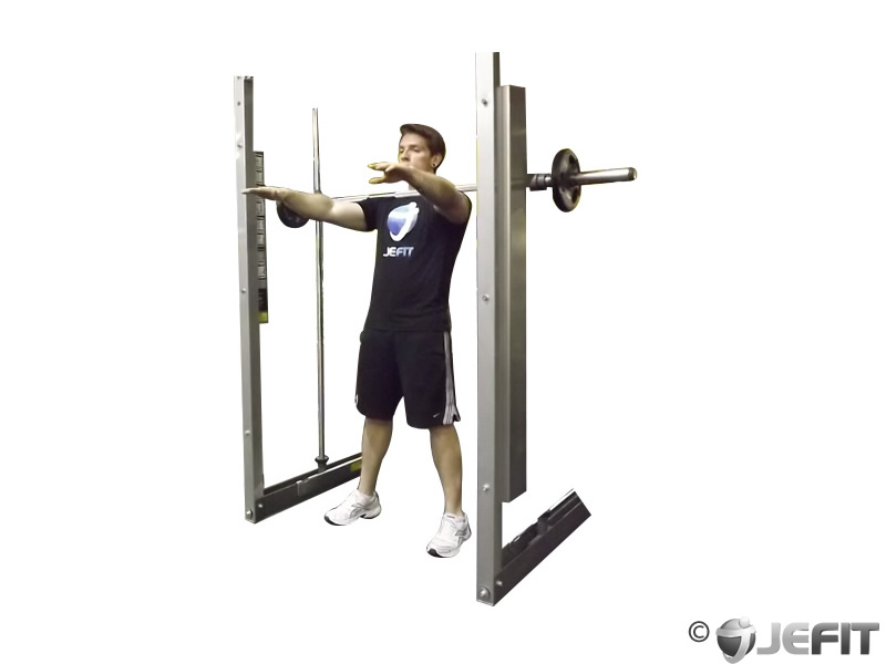 Smith Machine Frankenstein Squat
