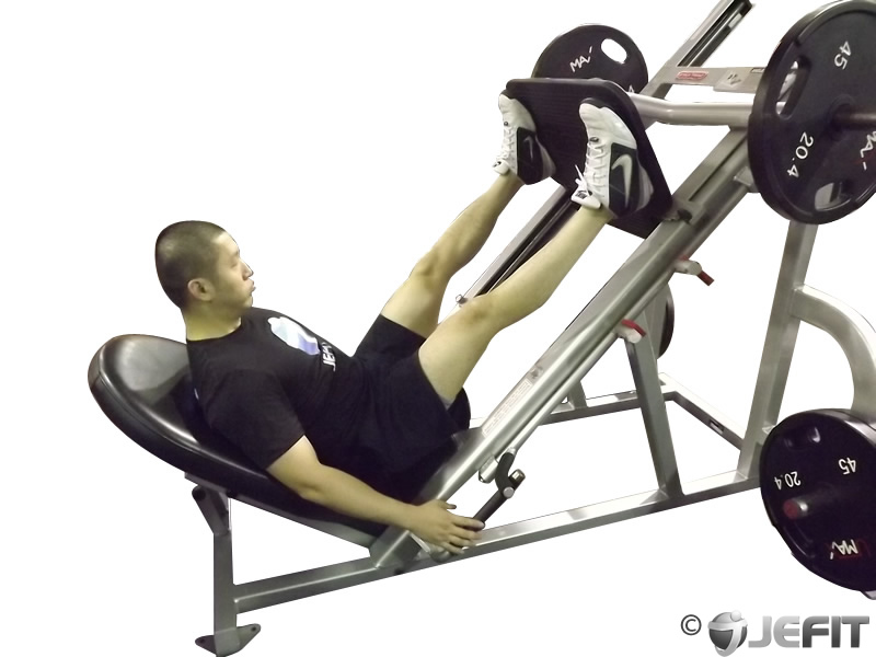 Leg Press With Wide Stance Exercise Database Jefit
