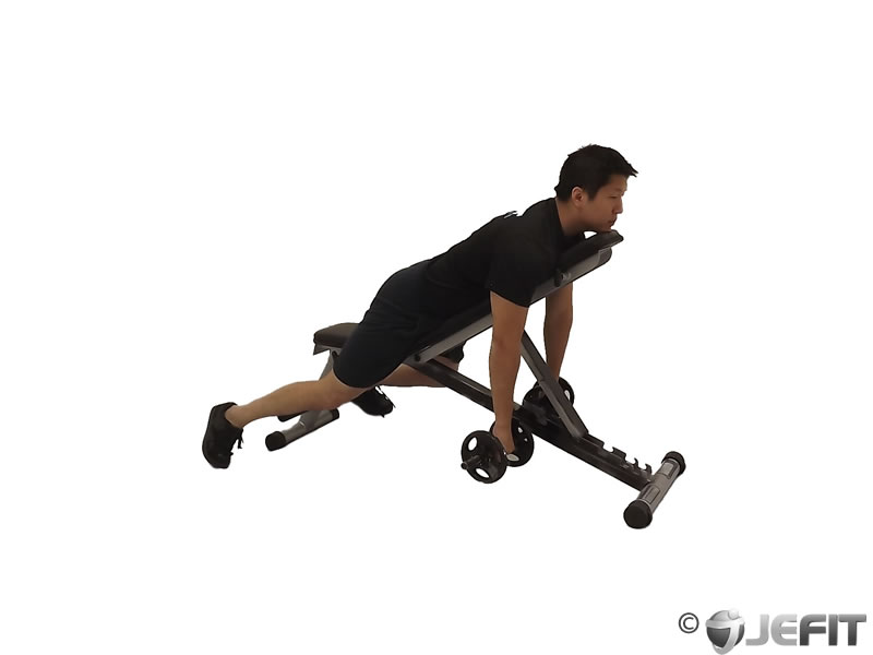 Dumbbell Reverse Spider Curl