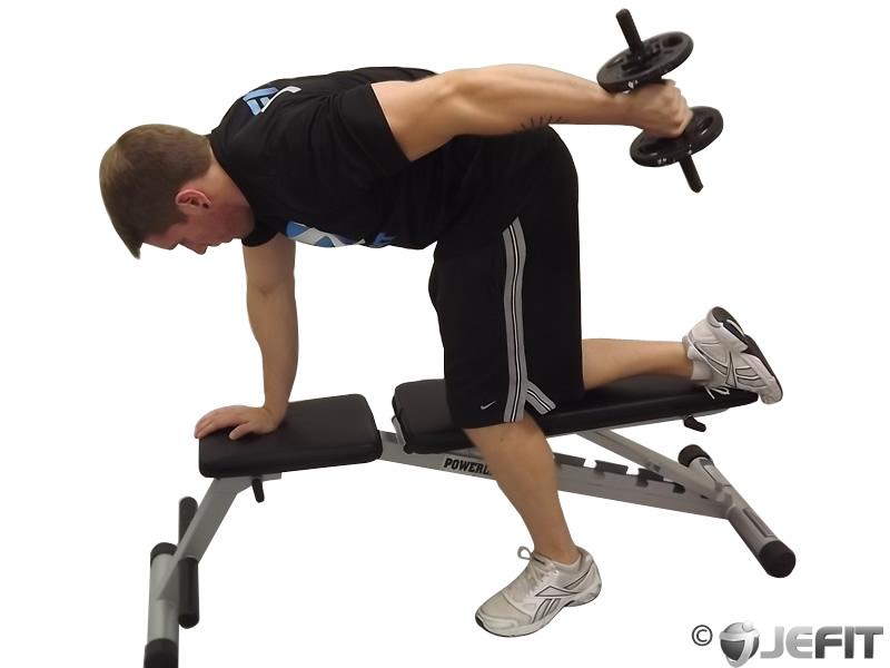 Dumbbell Tricep Kickback Exercise Database Jefit Best