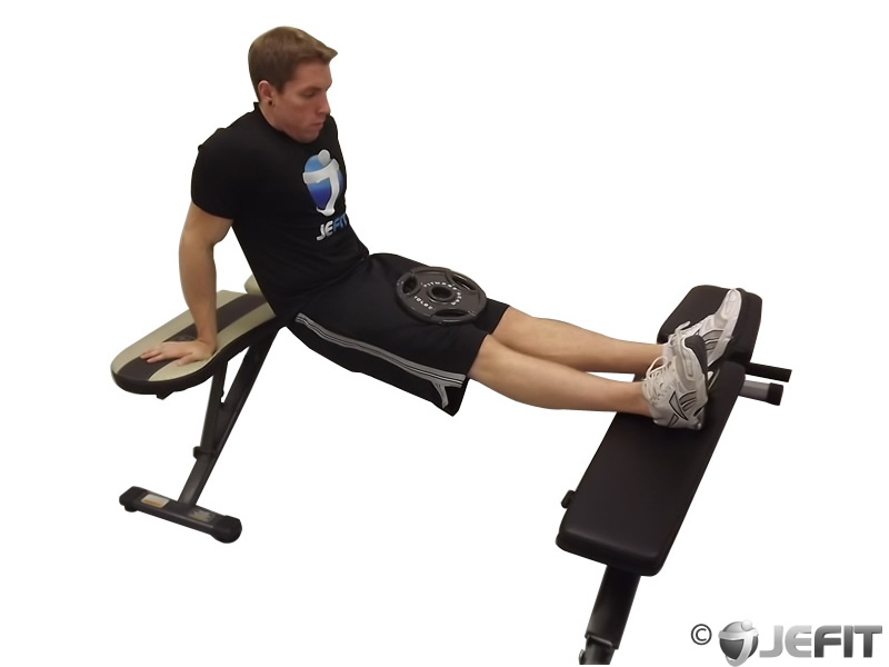 Stupendous Weighted Bench Dip Exercise Database Jefit Best Pdpeps Interior Chair Design Pdpepsorg