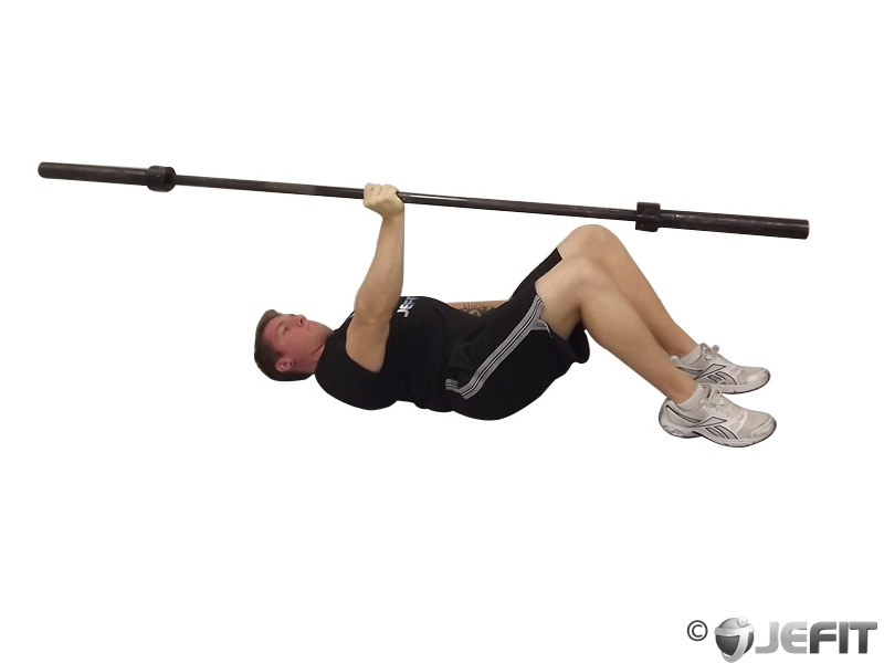 Barbell One Arm Floor Press - Exercise