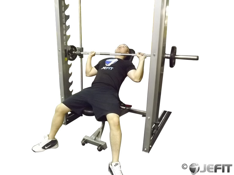 bench smith machine