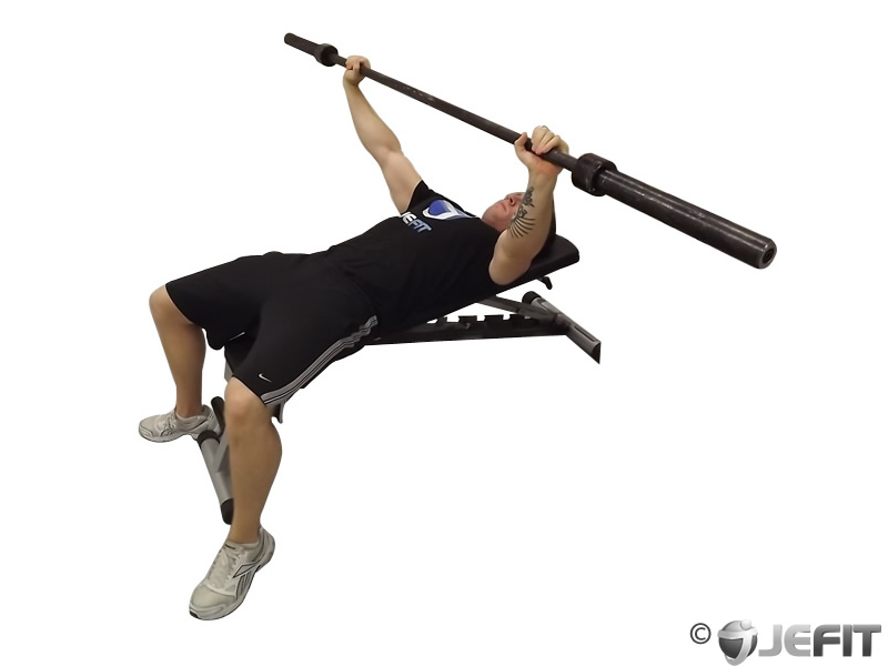 Barbell Wide Grip Bench Press