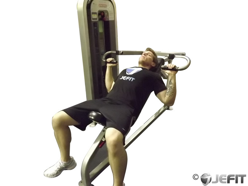 Machine Incline Chest Press Exercise Database Jefit Best