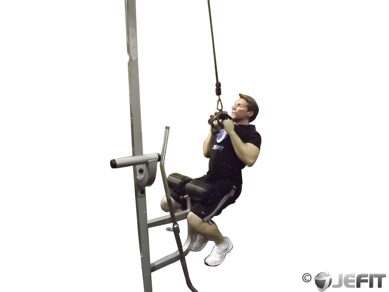 Cable V Bar Pull Down