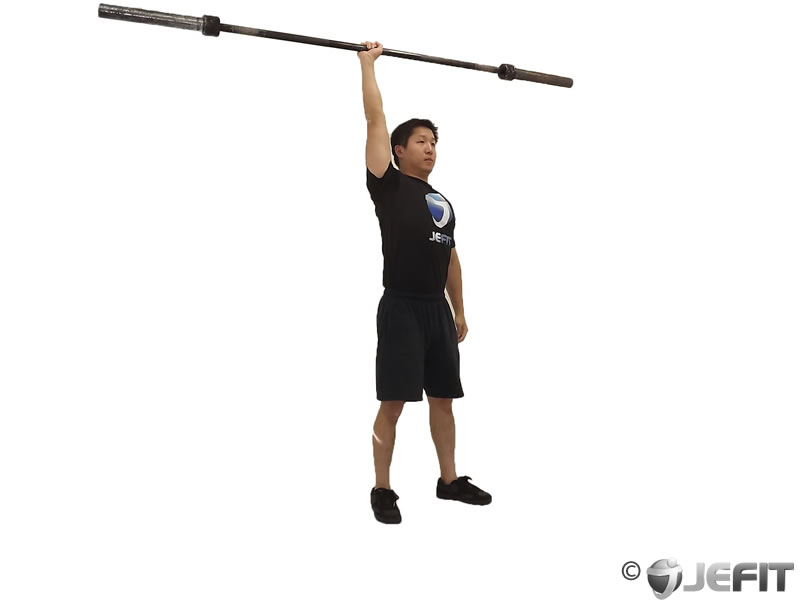 Barbell One Arm Snatch