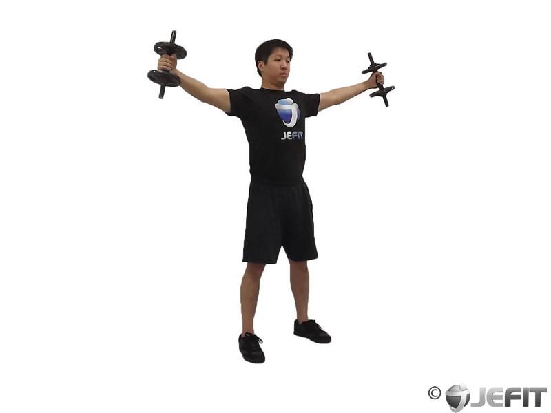 Dumbbell Iron Cross Exercise Database Jefit Best