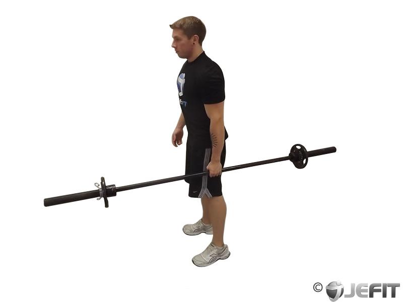 Barbell One Arm Side Deadlift Exercise Database Jefit