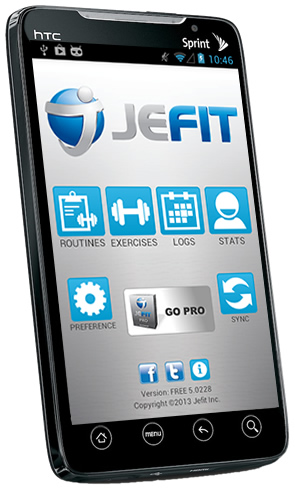 Jefit Free Android App Best And Iphone Workout Fitness Exercise Bodybuilding Tracking System