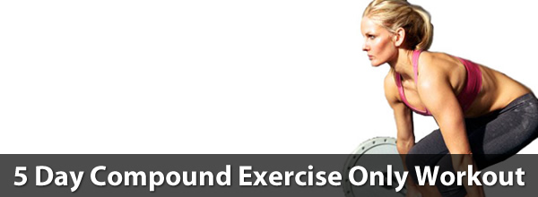 5 Day Compound Exercise Only Workout