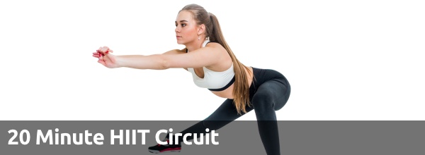 20 Minute HIIT Circuit